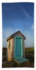 Outhouse, Matinicus Island, Knox Hand Towel