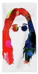 Ozzy Watercolor Hand Towel