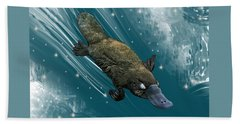 P Is For Platypus Hand Towel