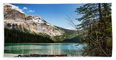 Paddles For Emerald Lake Hand Towel
