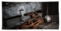 Rusty Chain Bath Towels