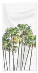 Palm Tree Grove Bath Towel