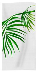 Palm Tree Leafs Hand Towel