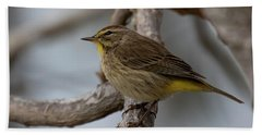 Palm Warbler Hand Towel