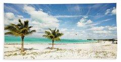 Palms And Kites Hand Towel