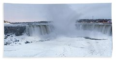 Panoramic View Niagara Falls Bath Towel