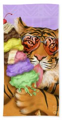 Party Safari Tiger Hand Towel