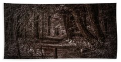 Path In Forest #i0 Bath Towel