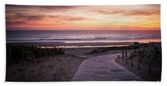 Path To The Sea Hand Towel