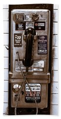 Payphone Hand Towel