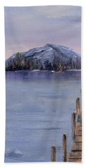 Peaceful Cattails Hand Towel