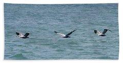 Pelican Flight Hand Towel