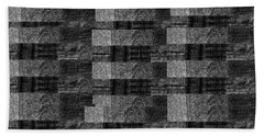 Pencil Scribble Texture 2 Bath Towel