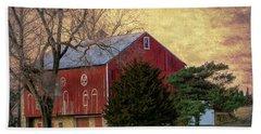 Pennsylvania Vintage Barn  Hand Towel