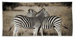 Perfect Zebras Bath Towel