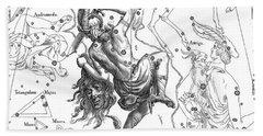 Perseus, The Boreal Constellation Of The Hero Bath Towel