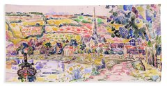 Petit Andely-the River Bank - Digital Remastered Edition Hand Towel