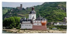Pfalzgrafenstein Castle Hand Towel