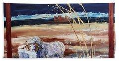 Phil And Alice Navajo Sheep    38 Hand Towel