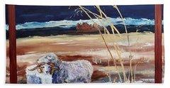 Phil And Alice Navajo Sheep    38 Bath Towel