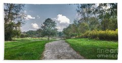 Pickerington Ponds Walkway Bath Towel