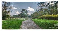 Pickerington Ponds Walkway Hand Towel
