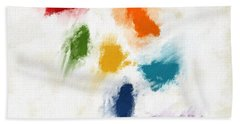 Piece Of The Rainbow- Art By Linda Woods Bath Towel