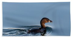 Pied-billed Grebe Hand Towel