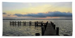 Pier Into Morning Hand Towel