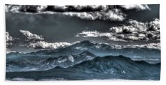 Pikes Peak And Clouds Hand Towel