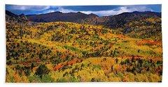 Pikes Peak Autumn Hand Towel