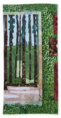 Pine Forest Tall Hand Towel