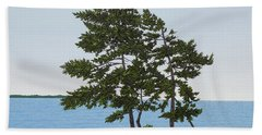 Pine On The Point Hand Towel