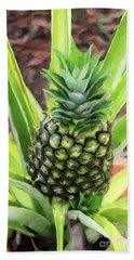 Pineapple Bath Towel