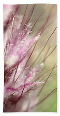 Pink Cotton Candy Hand Towel