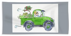 Plant Delivery Hand Towel