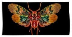 Planthopper Lanternfly Bath Towel