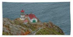 Point Reyes Lighthouse Bath Towel