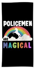 Policemen Are Magical Hand Towel