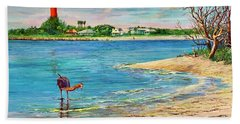 Ponce Inlet Lighthouse Bath Towel
