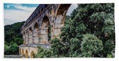 Pont Du Gard Hand Towel