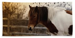 Pony Warm Up Hand Towel