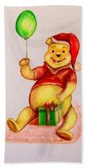 Pooh Bear 2 Bath Towel