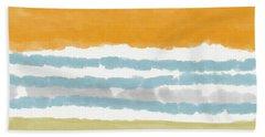 Poolside 2- Art By Linda Woods Bath Towel