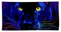 pOpCat Black Panther Hand Towel