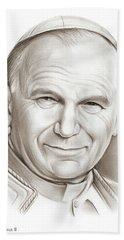 Pope John Paul II Hand Towel