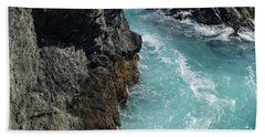 Porto Covo Cliff Views Bath Towel