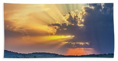 Powerful Sunbeams Hand Towel