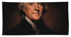 President Thomas Jefferson  Bath Towel