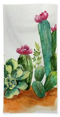 Prickly Cactus Bath Towel